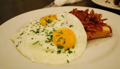 Varieties breakfasts included scrambled eggs, over easy, sunny side up and other eggs